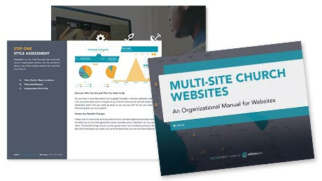 Multi-Site Church Websites