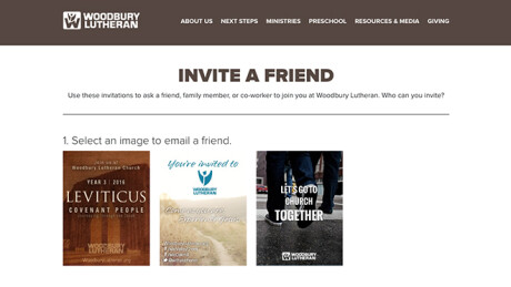 Woodbury Lutheran Church Case Study